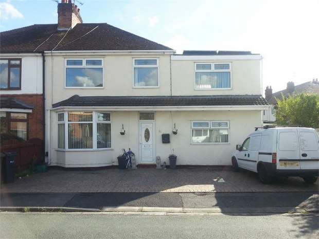 5 Bedrooms Semi Detached House for sale in Fairfield Avenue, Whitby, Ellesmere Port, Cheshire