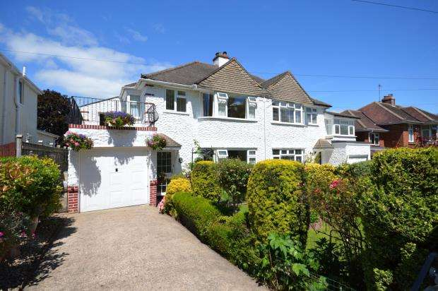 3 Bedrooms Semi Detached House for sale in Dunsford Gardens, Exeter, Devon