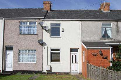 2 Bedrooms Terraced House for sale in Chesterfield Road, Barlborough, Chesterfield, Derbyshire