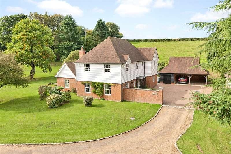 5 Bedrooms Detached House for sale in Pursers Lane, Peaslake, Guildford, Surrey, GU5