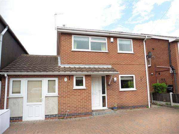 3 Bedrooms Detached House for sale in Three Tuns Road, Eastwood, Nottingham