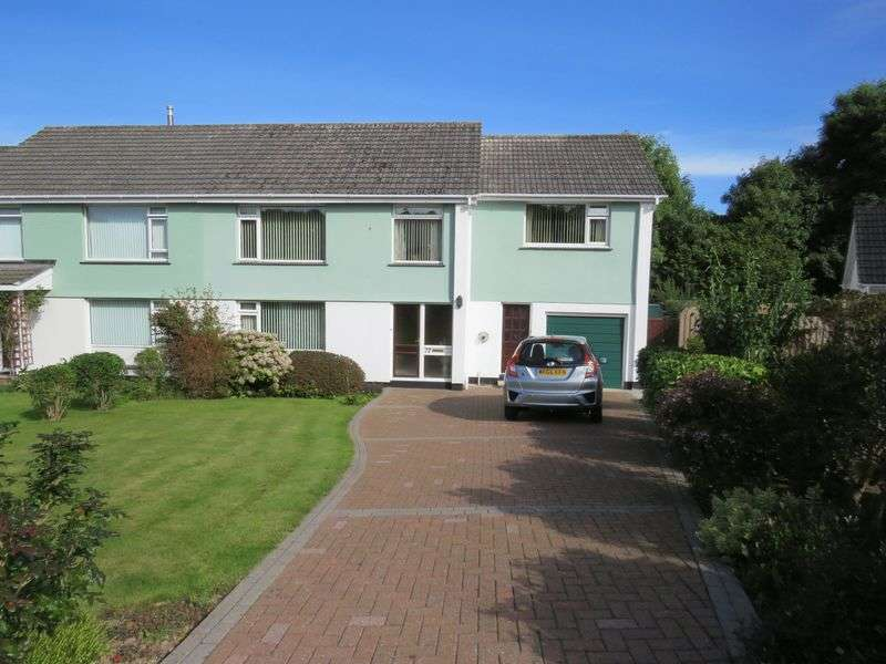 5 Bedrooms Semi Detached House for sale in Bosvean Gardens, Truro
