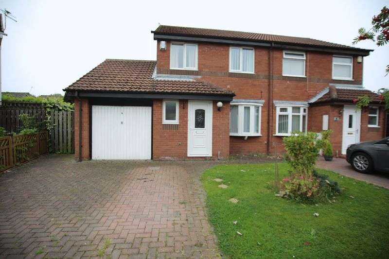 3 Bedrooms Semi Detached House for sale in Wensley Close, NE5 4ST