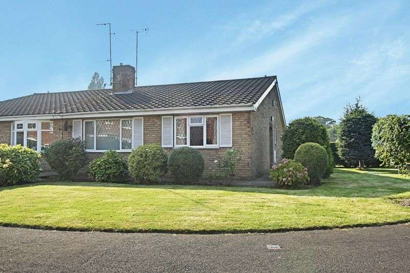 2 Bedrooms Semi Detached Bungalow for sale in Stephensons Walk, Cottingham