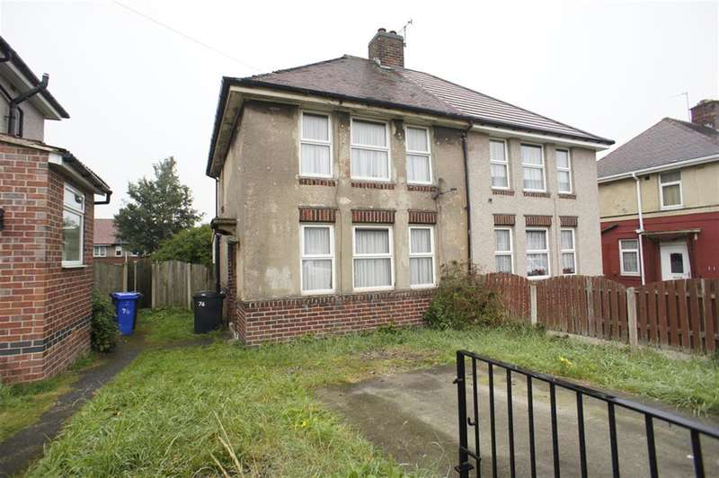 3 Bedrooms Semi Detached House for sale in Eastern Avenue, Sheffield S2 2GJ