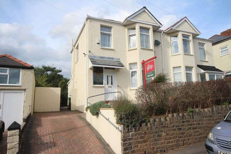 3 Bedrooms Semi Detached House for sale in Ty Fry Road, Rumney