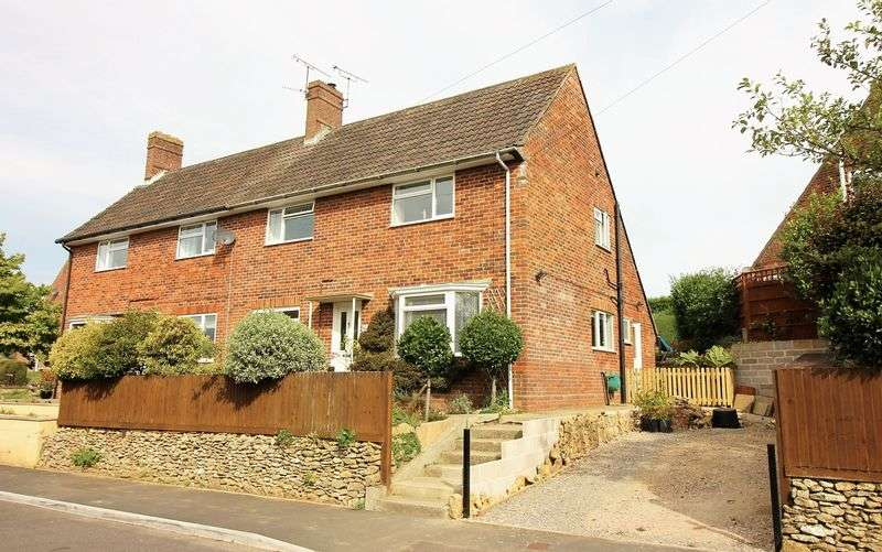 3 Bedrooms Semi Detached House for sale in Blackdown View, Ilminster