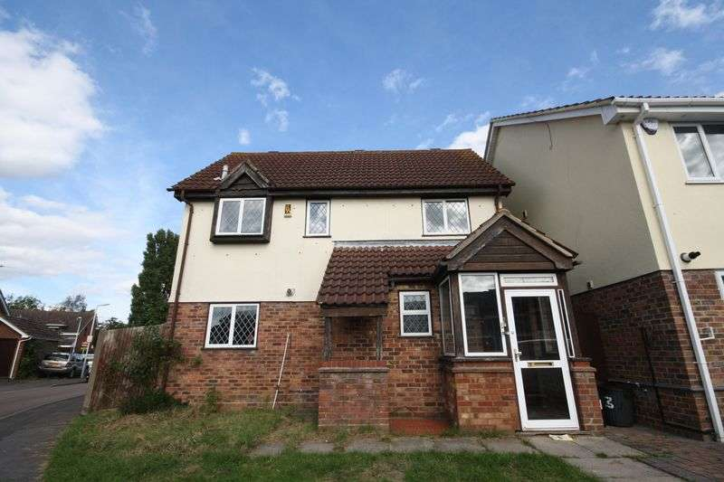 3 Bedrooms Detached House for sale in Harecastle Close, Hayes
