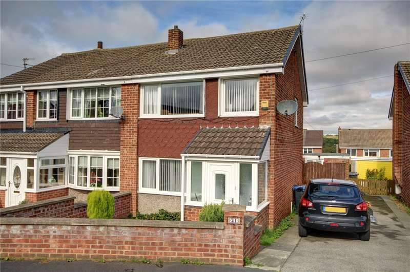 3 Bedrooms Semi Detached House for sale in Valley View, Sacriston, Durham, DH7