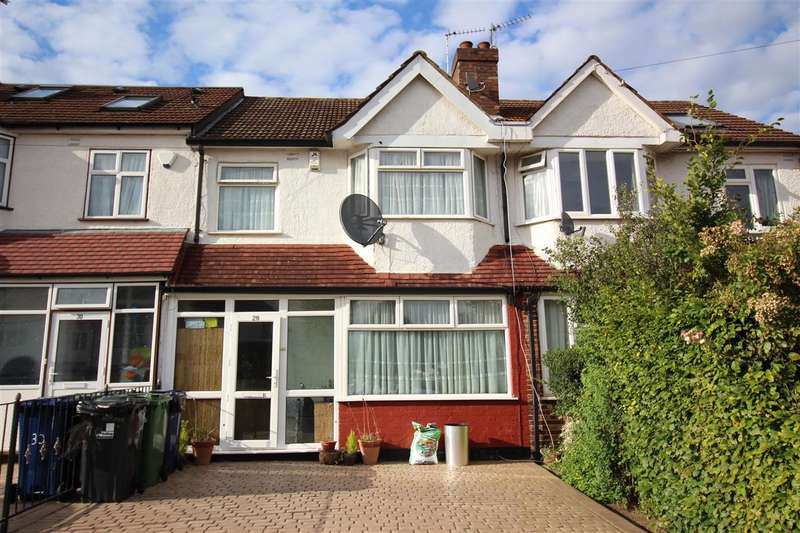 3 Bedrooms Terraced House for sale in Avon Road, Greenford