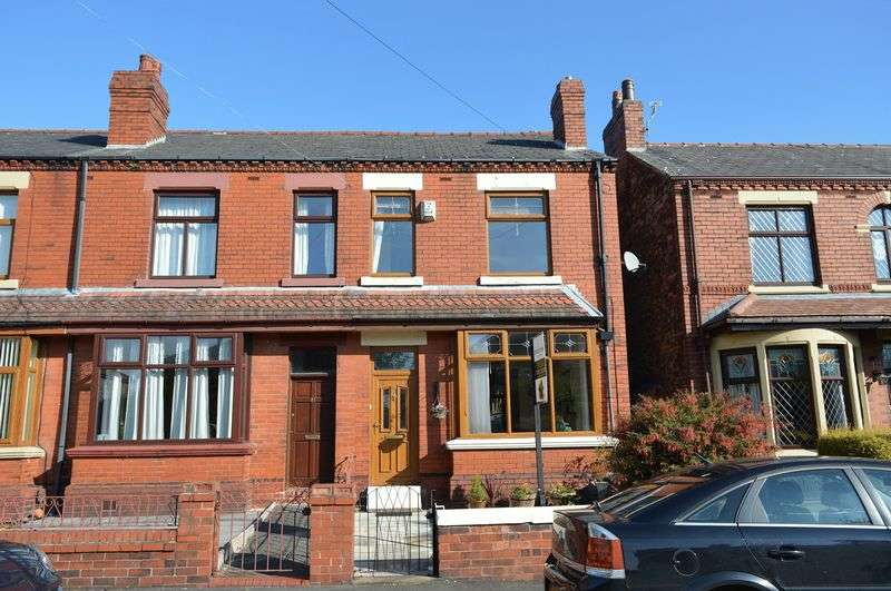 2 Bedrooms Terraced House for sale in Harvey Lane, Golborne, WA3 3QN