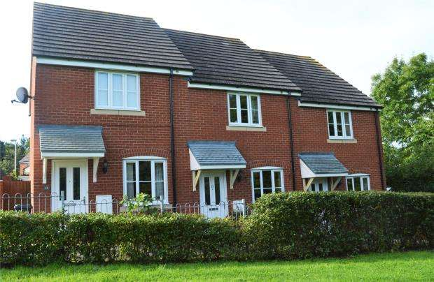 2 Bedrooms Terraced House for sale in Ware Court, Honiton, Devon