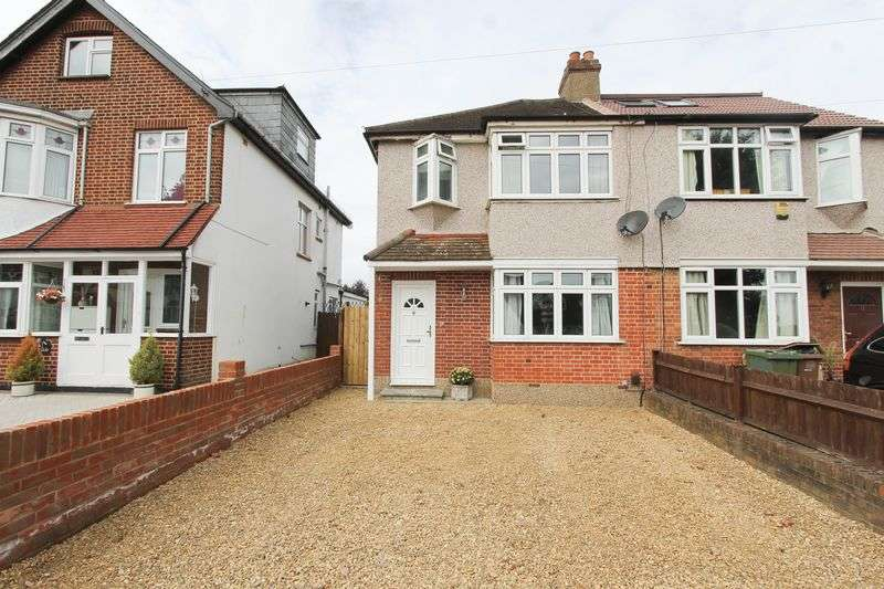 2 Bedrooms Semi Detached House for sale in Boscombe Road, Worcester Park