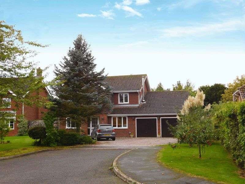 4 Bedrooms Detached House for sale in Woodbank, Deeping St Nicholas