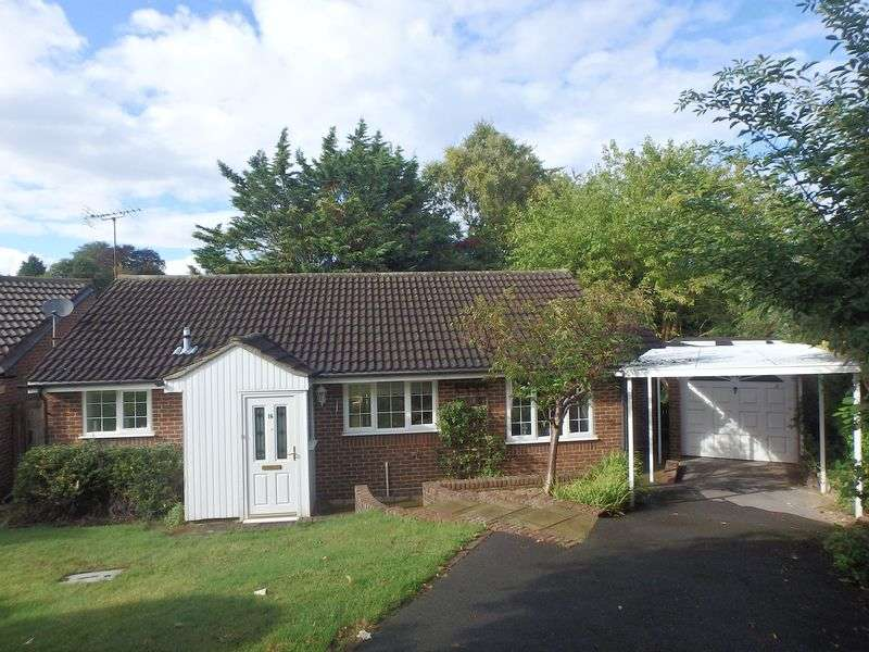 2 Bedrooms Detached Bungalow for sale in Harkness Close, Epsom