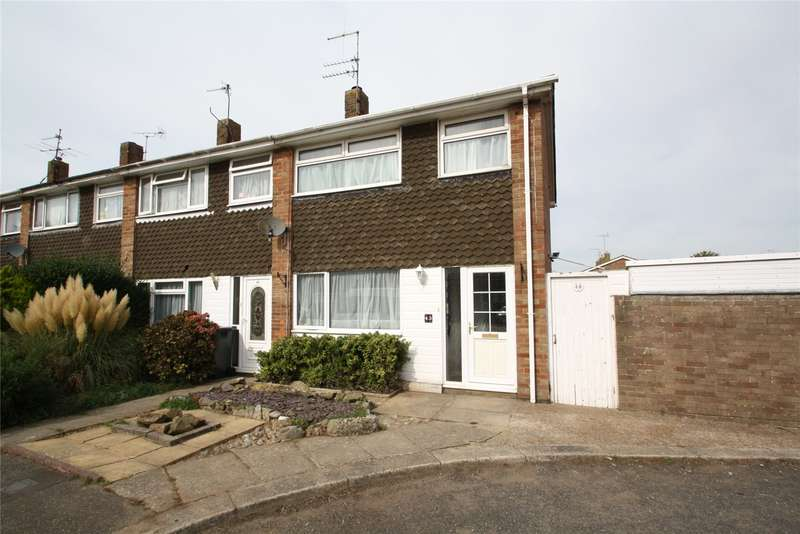 2 Bedrooms End Of Terrace House for sale in Kipling Avenue, Goring By Sea, Worthing, BN12