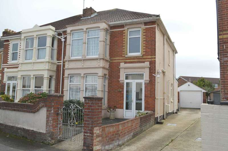 3 Bedrooms Semi Detached House for sale in St Thomas`s Road, Hardway