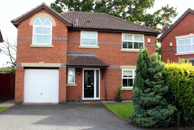 4 Bedrooms Detached House for sale in Peninsula Road, Worcester, Worcester, WR5
