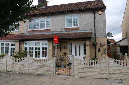 4 Bedrooms Semi Detached House for sale in Roughwood Drive, Liverpool, Merseyside, ., L33