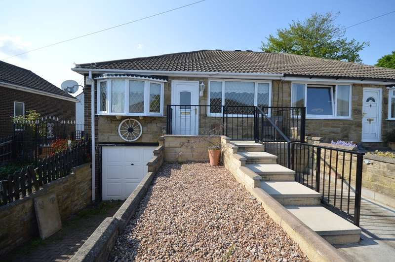 2 Bedrooms Semi Detached Bungalow for sale in Rose Garth, Crofton, Wakefield