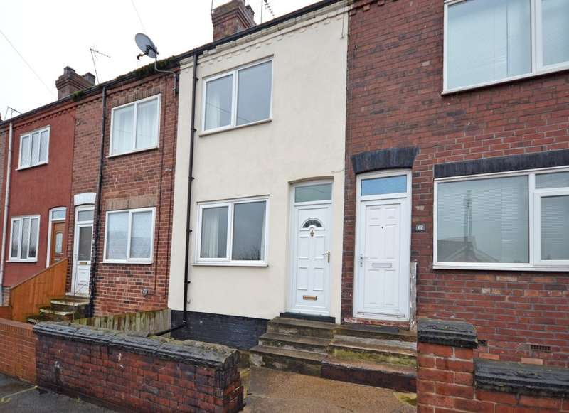 2 Bedrooms Terraced House for sale in Cemetery Road, Normanton