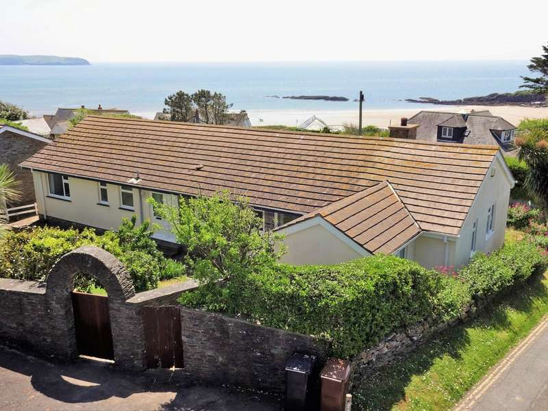 5 Bedrooms Detached Bungalow for sale in Bigbury on Sea, Kingsbridge, South Devon