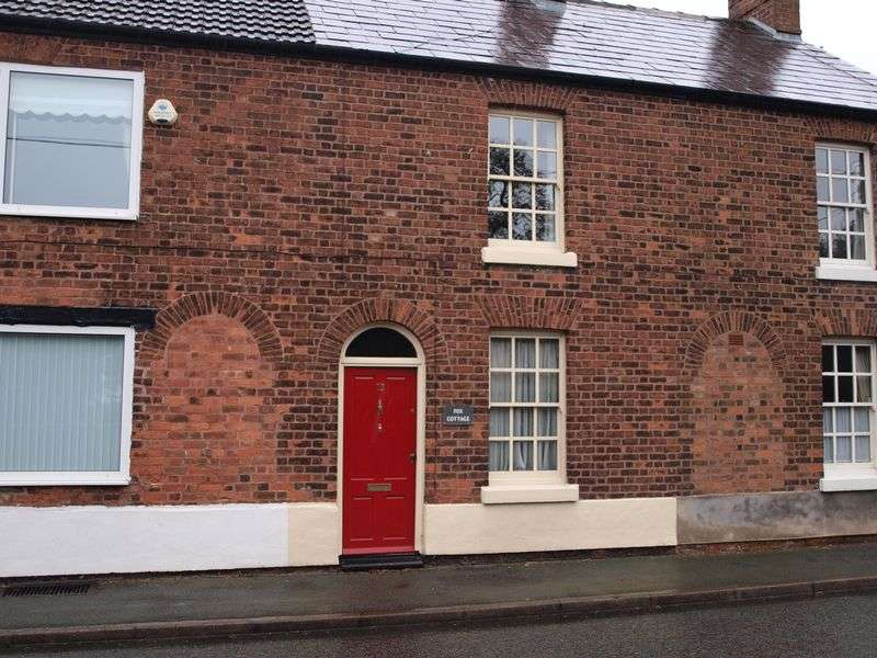 2 Bedrooms Terraced House for sale in Fox Cottage, West Road, Weaverham, CW8 3HH