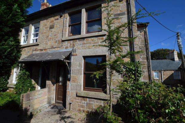 2 Bedrooms End Of Terrace House for sale in The Cottages, Gulval, Penzance, Cornwall