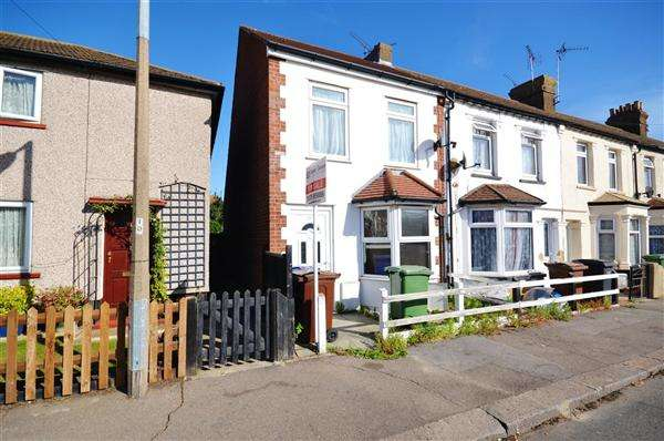 2 Bedrooms End Of Terrace House for sale in Christchurch Road, Tilbury