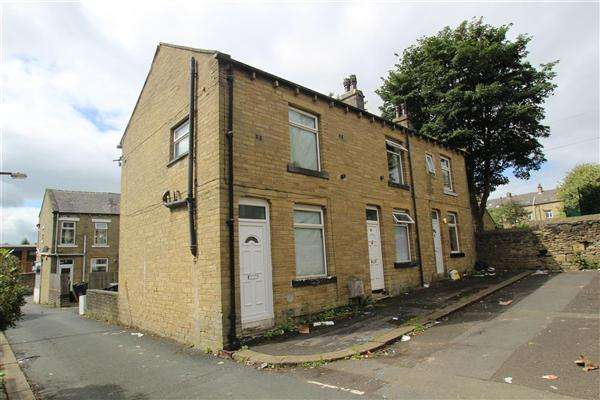2 Bedrooms End Of Terrace House for sale in Bowman Street, Hanson Lane, Halifax
