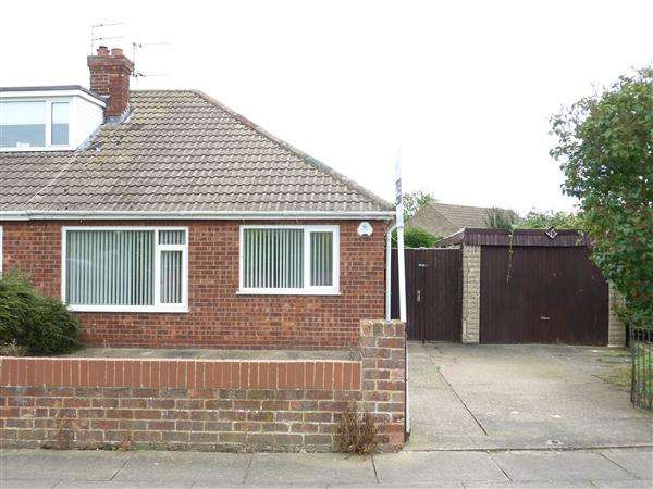 3 Bedrooms Semi Detached Bungalow for sale in FALLOWFIELD ROAD, SCARTHO, GRIMSBY