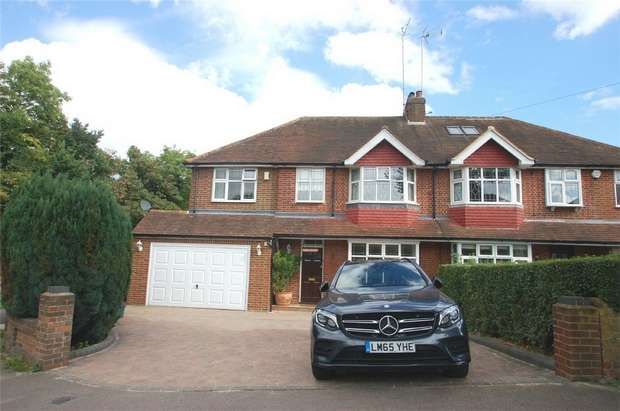 5 Bedrooms Semi Detached House for sale in Becketts Avenue, St Albans, Hertfordshire