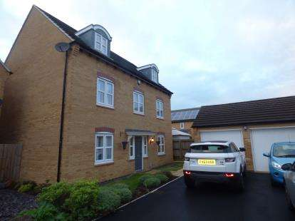 5 Bedrooms Detached House for sale in Littlecote Grove, Peterborough, Cambridgeshire, United Kingdom