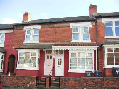 3 Bedrooms Terraced House for sale in Alderson Road, Alum Rock, Birmingham, West Midlands