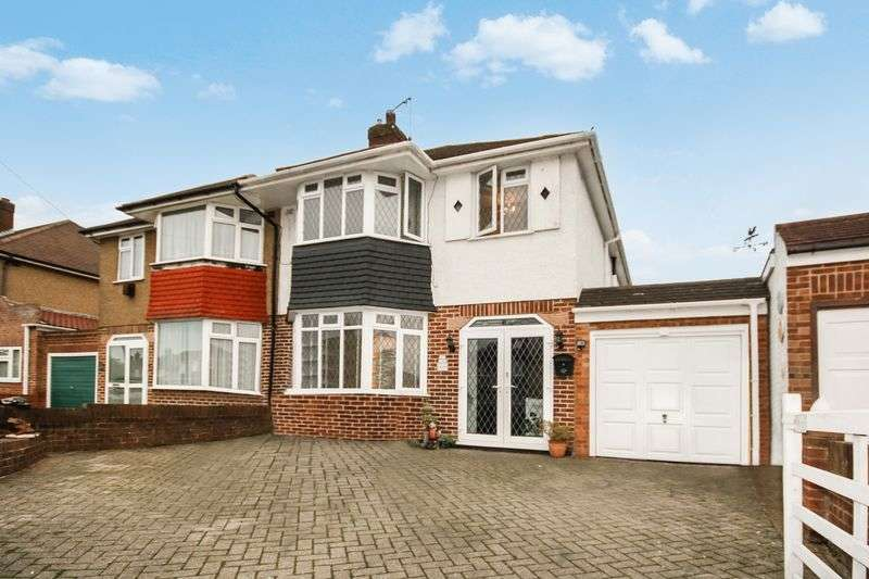 3 Bedrooms Semi Detached House for sale in Nutfield Gardens, Northolt