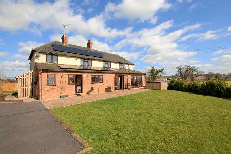 4 Bedrooms Detached House for sale in Stone Road, N/r Bramshall, Uttoxeter