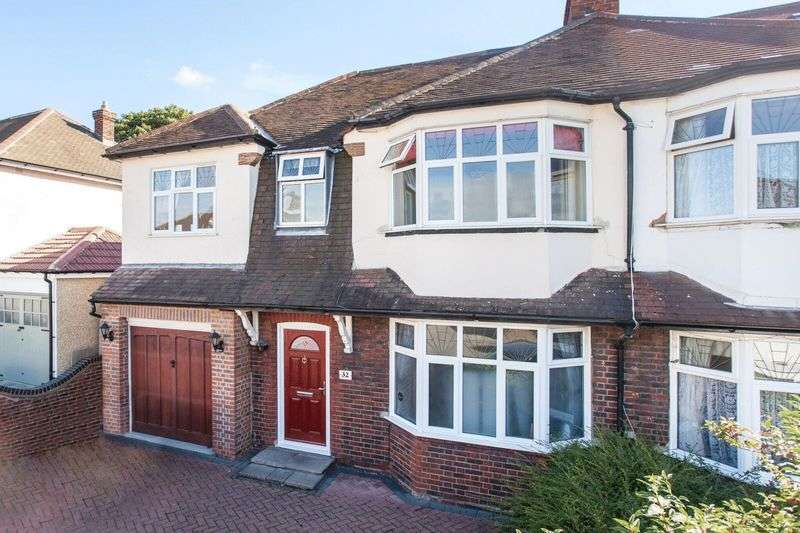 5 Bedrooms Semi Detached House for sale in Glenview Road, Bickley