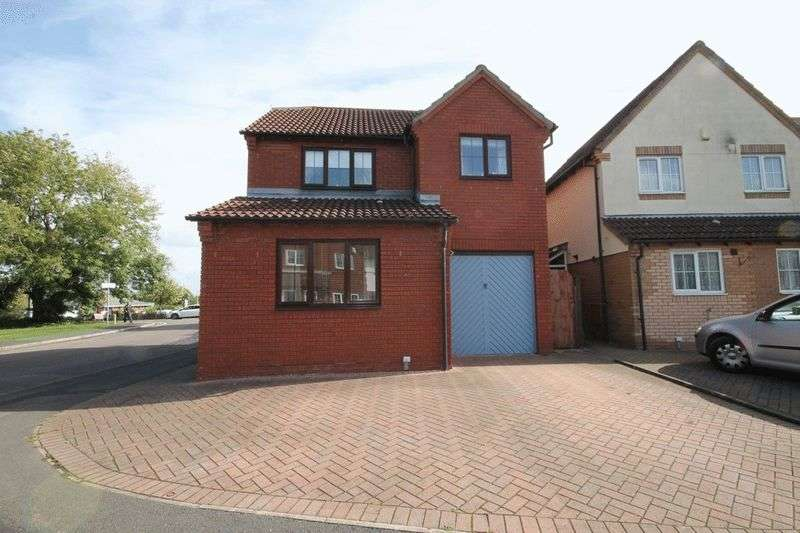 3 Bedrooms Detached House for sale in Oaktree Crescent, Bradley Stoke
