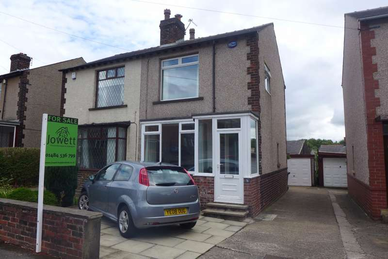 2 Bedrooms Semi Detached House for sale in Heatherfield Road, Marsh, Huddersfield, HD1