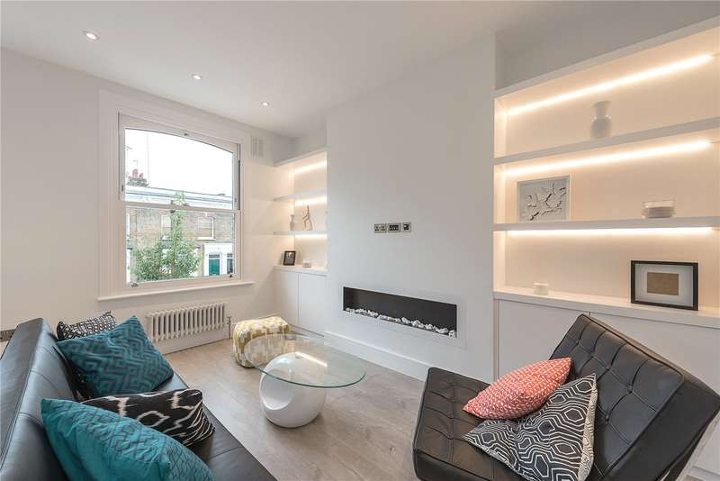 2 Bedrooms Flat for sale in Barnsdale Road, London, W9