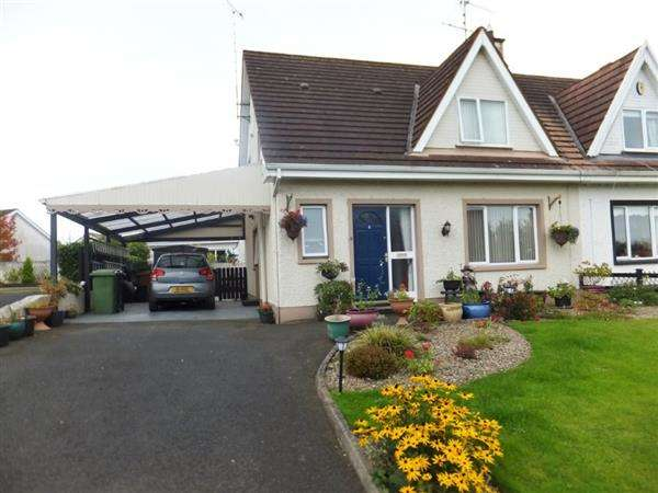 3 Bedrooms Semi Detached House for sale in 4 Killyvilly Court