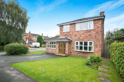 3 Bedrooms Detached House for sale in Carlisle Close, Mobberley, Knutsford, Cheshire