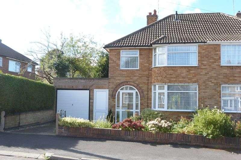 3 Bedrooms Semi Detached House for sale in Highfield Drive, Wigston Fields