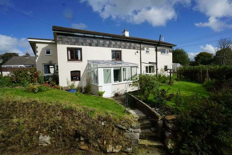 4 Bedrooms Detached House for sale in Tremail, Camelford