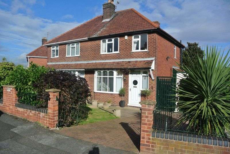 3 Bedrooms Semi Detached House for sale in The Knoll, Mansfield