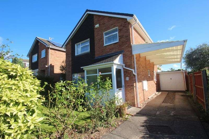 4 Bedrooms Detached House for sale in Pebworth Close, Churchill North, Redditch