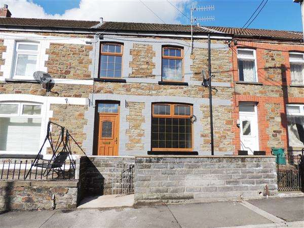 3 Bedrooms Terraced House for sale in Lewis Terrace, Llwyncelyn, Porth