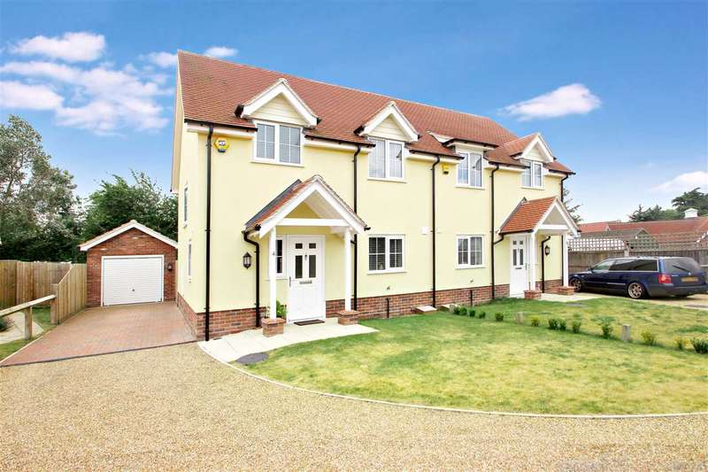 3 Bedrooms Semi Detached House for sale in Catkin Mews, Colchester