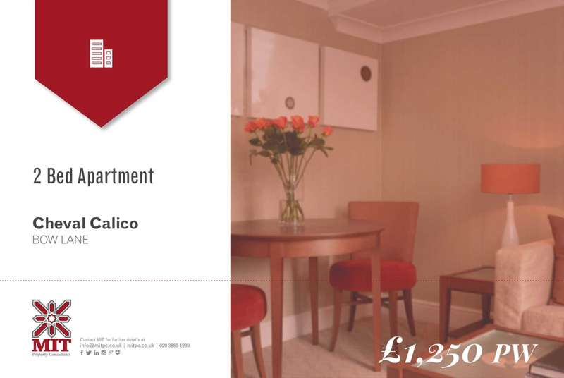 2 Bedrooms Apartment Flat for rent in Bow Lane, London