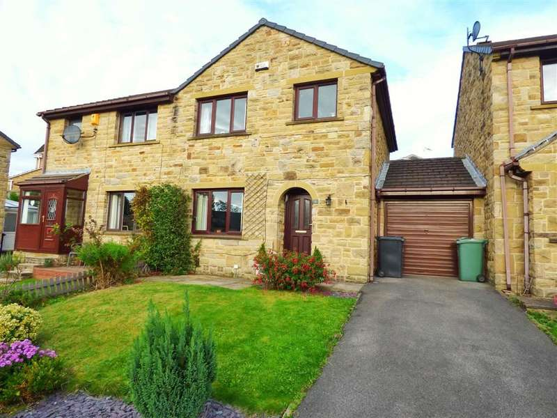 3 Bedrooms Property for sale in Rushfield Vale, Fenay Bridge, Huddersfield, HD8